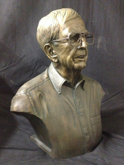 Portrait of David Lewis, life size, bron
