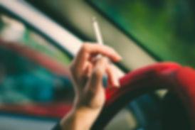 Car detailing to remove cigarette odor