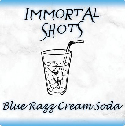 Blue Razz Cream Soda