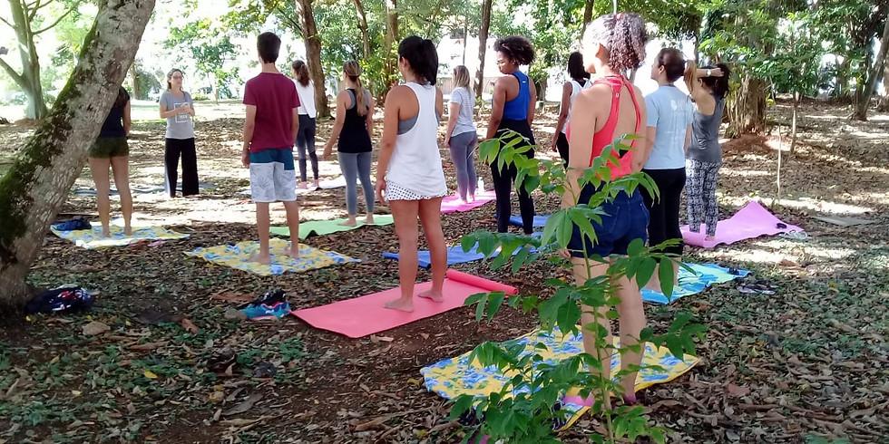 Aula gratuita de yoga