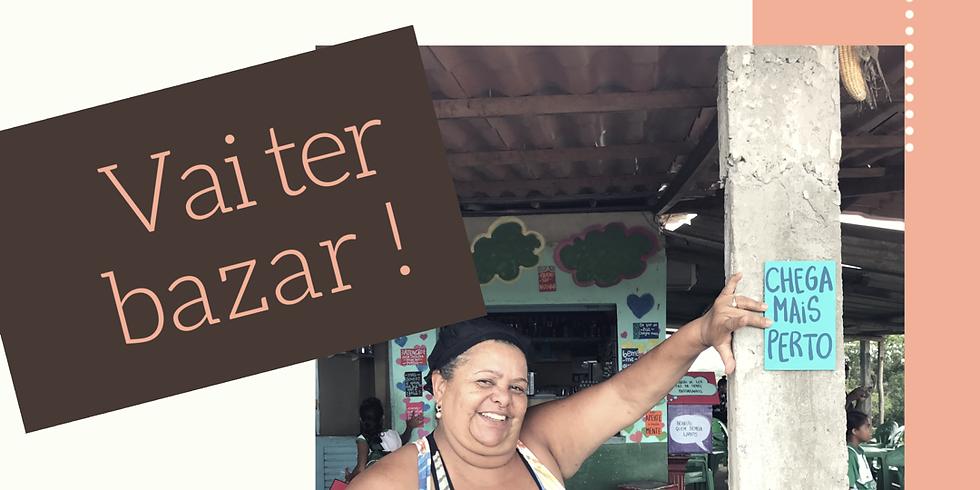 Bazar com poesia no Bar da Conceição
