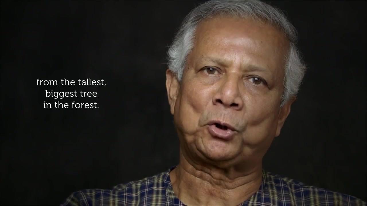 Muhammad Yunus - Visão sobre Pobreza