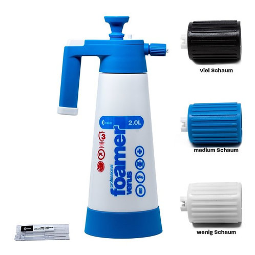 Foamer | Kwazar Venus Super Foamer Cleaning Pro+ Viton 2l | mit Zubehör