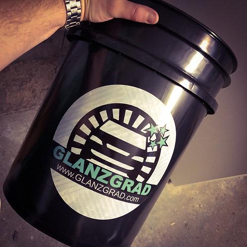 Wascheimer   GLANZGRAD Wash Bucket 5 Gallonen   schwarz