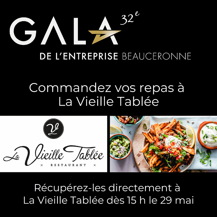 Choisissez votre menu - LA VIEILLE TABLÉE