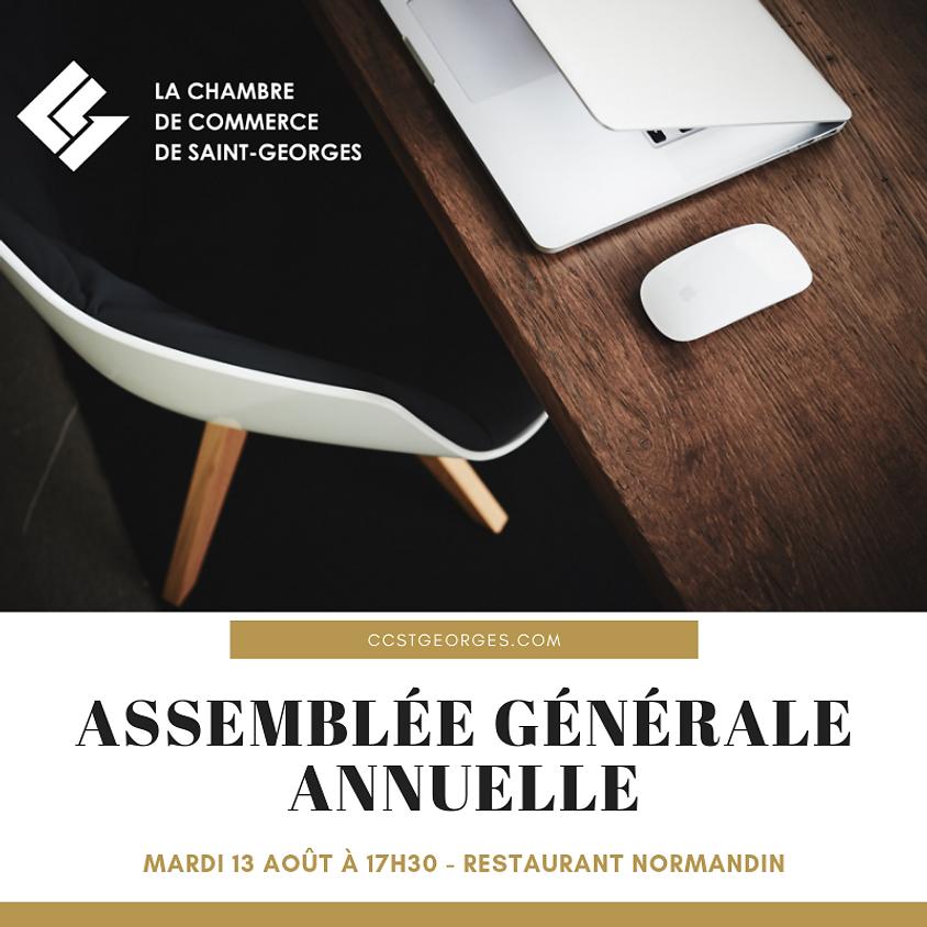 ASSEMBLÉE GÉNÉRALE ANNUELLE 2018-2019