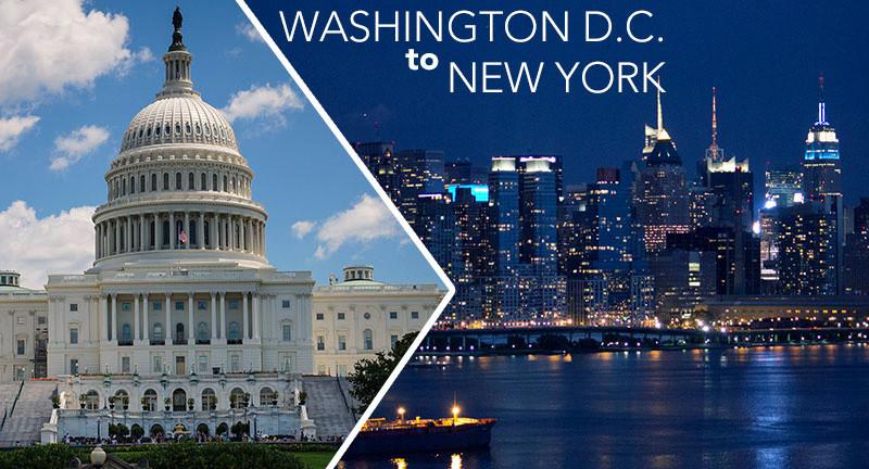 Washington DC to New York