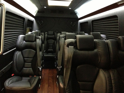 luxury van for wine tour in virginia