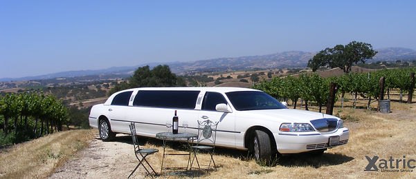 limo rental service for wine tour near me