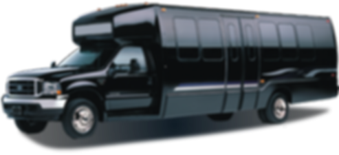 Pary bus rental in dc, limo bus in dc