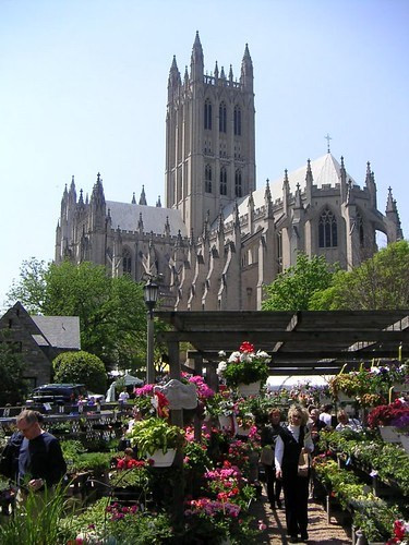 Washington National Cathedral's Flower Mart