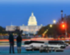 Charter bus service for presidential inauguration in Washington dc