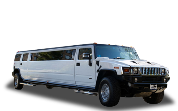 Xatric White Hummer Stretch Limo