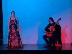 Amaya Arberas and David Galvez