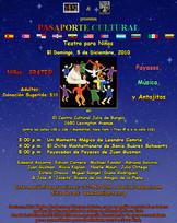 Pasaporte Cultural • Teatro para ninos