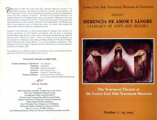 Herencia de Amor y Sangre (Legacy of Love & Blood)
