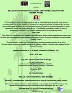Danisarte: Playwriting Workshop 2011 with Carmen Rivera