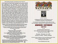 Danisarte: Memories 2012