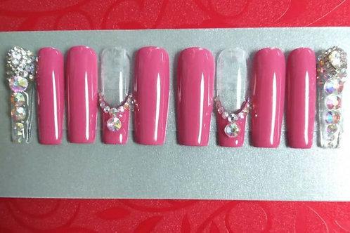 Pink Ice Nail Set