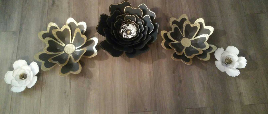 5 Piece Flower Set