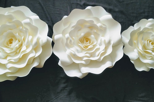 3 Piece Flower Set