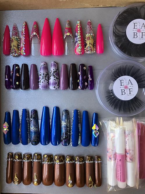 Size X-Small Nasty Barbie Nail Box