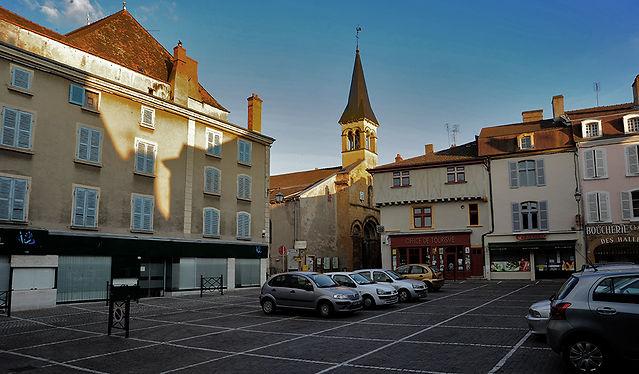 Marcigny, Bourgogne