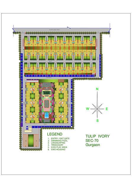 Tulip Ivory Sitemap   Real estate builders in India.jpg