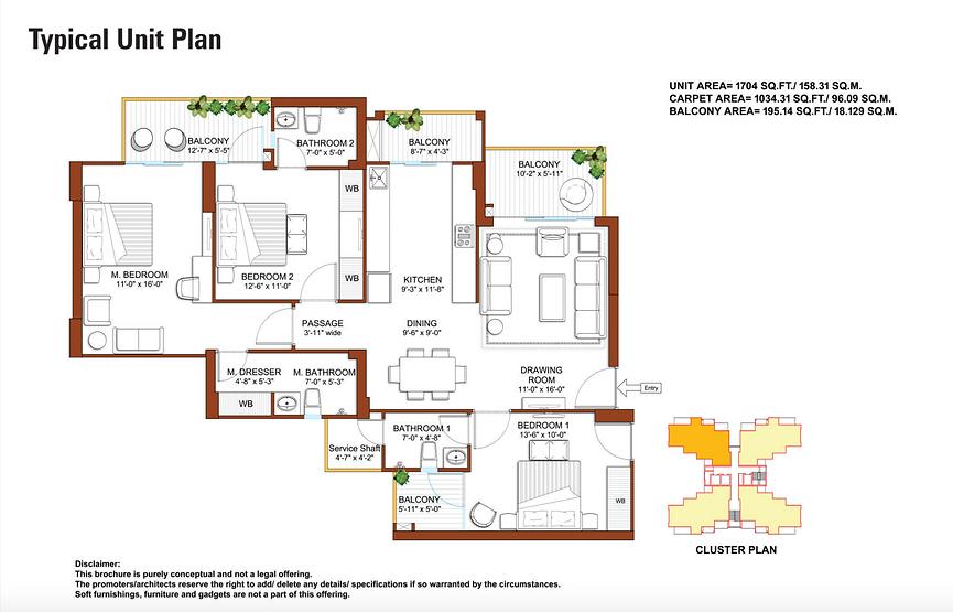 Tulip Yellow Unit Plan.png