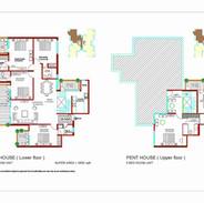 Tulip Ivory Gurgaon Penthouse Floor Plan
