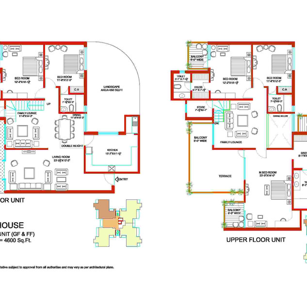 Tulip Ivory 5 BHK Bedroom Unit Plan.jpg