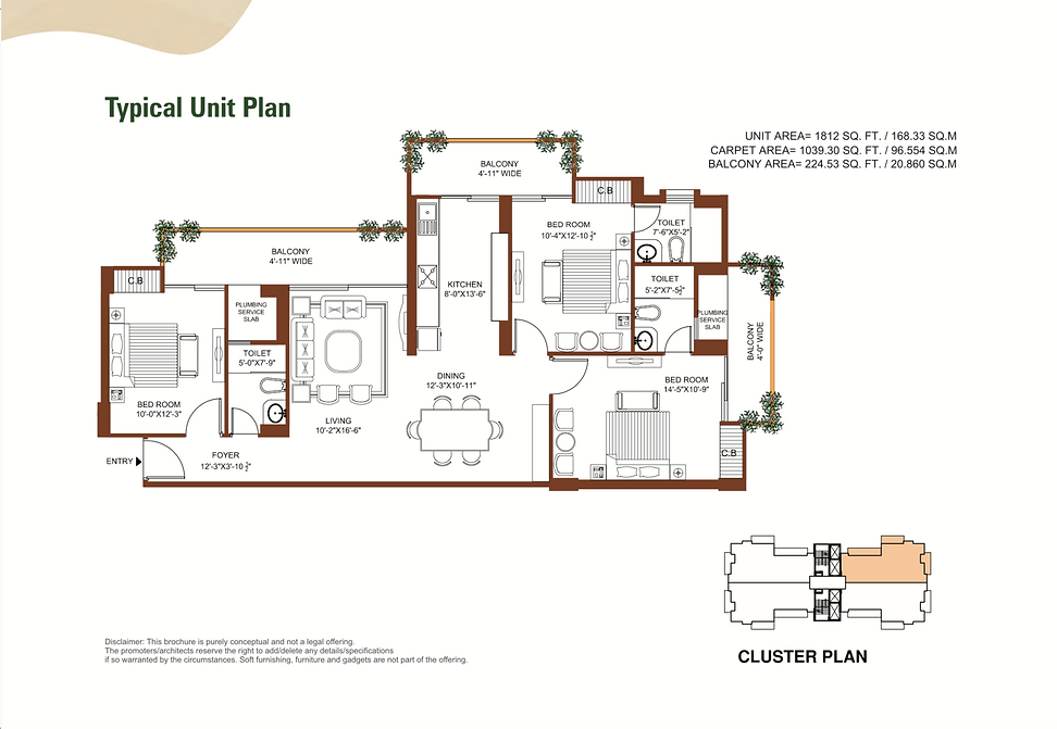 Tulip Leaf Unit Plan