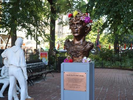 LGBTQ Activists Install Marsha P. Johnson Monument in New York City