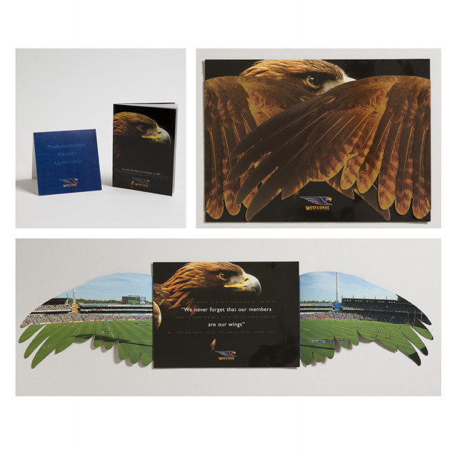 West Coast Eagles brochure