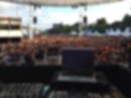 DJ Harry Kohrt zum Public Viewing auf der Kieler Woche