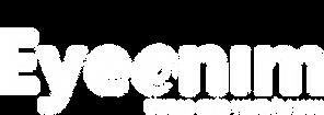 Logo Eyeonim (wit)