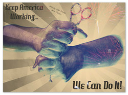 Keep America Working Poster