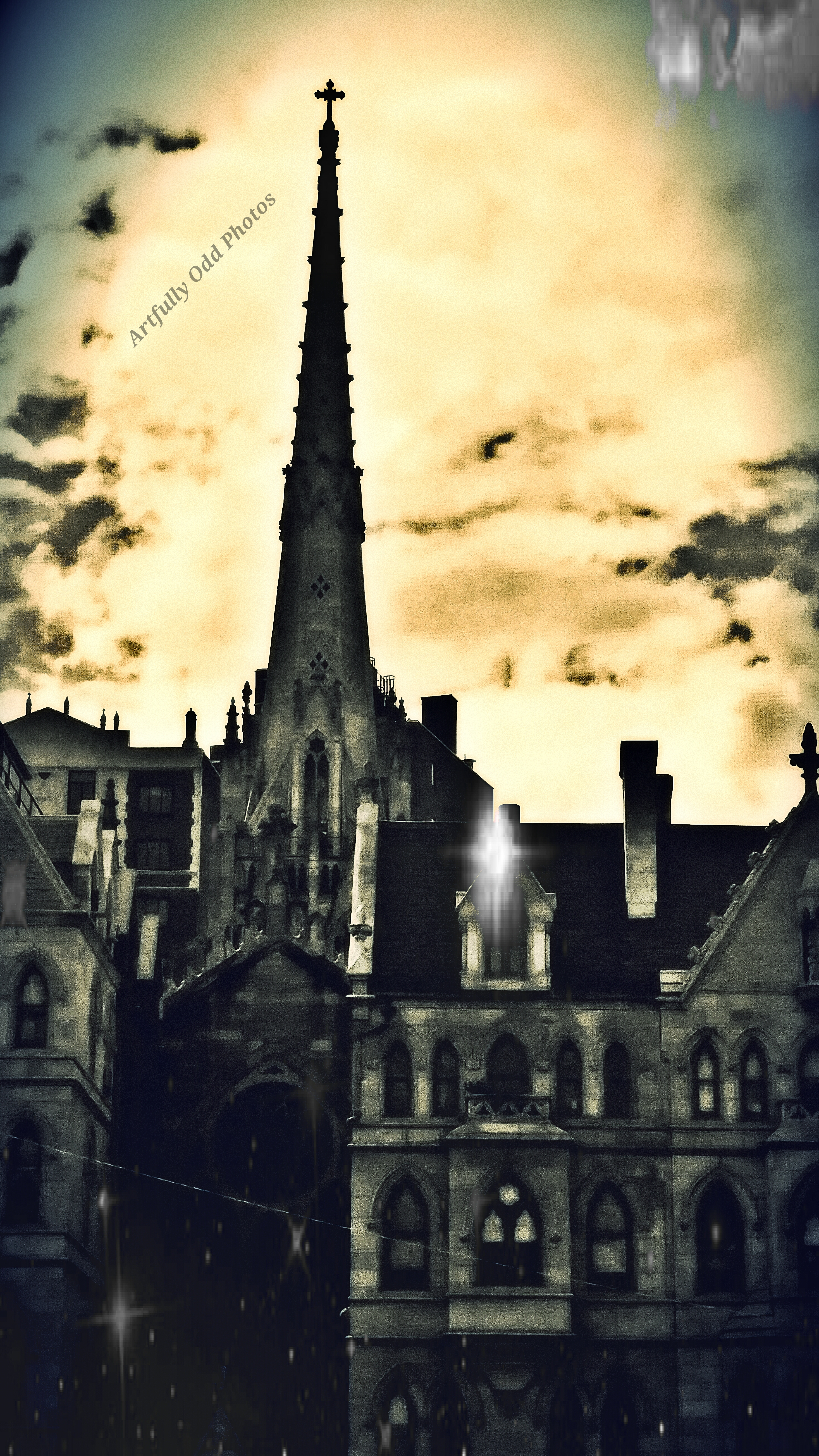 gothic steeeple