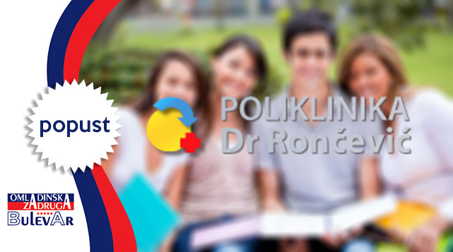 Dr.Rončević-30% popust na  ultrazvučne i color dopler preglede
