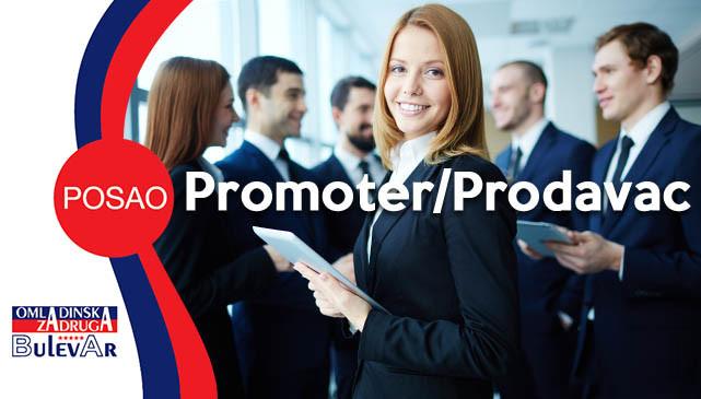 Poslovi promotera, prodavca, promoter