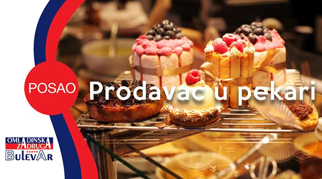 Prodavac, posao, pekara