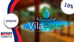 Vila Petra -10% popusta na sve aranžmane