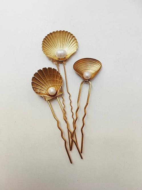 Mignonne SEASHELL 3-Pin Set
