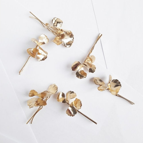 Maison Sabben MOSS Hair Pin Set - GOLD