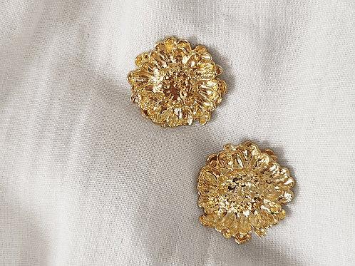 Elise Tsikis Gold MELONNE Earrings