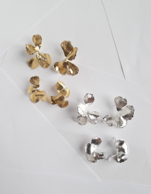 Maison Sabben UNIVERS earrings available at Carte Blanche Bride