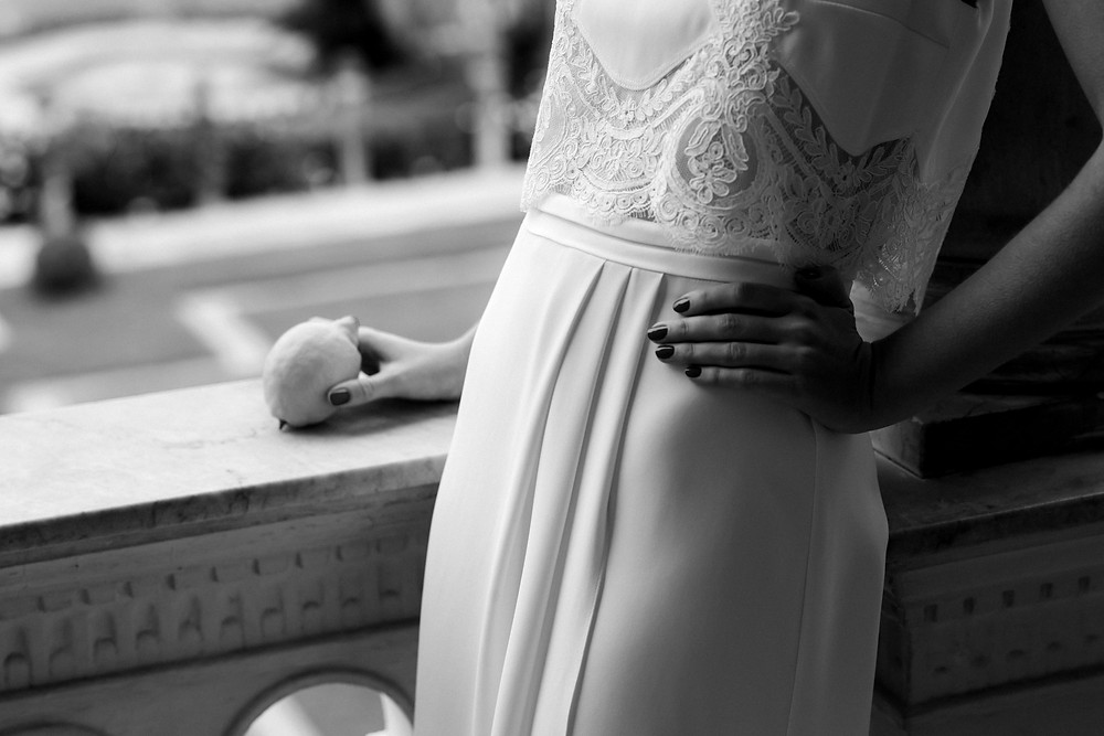 Laure de Sagazan JARRY gown 2020 Carte Blanche Bride