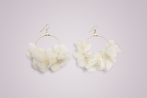 MARIA Large Flower Earrings