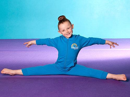 Rainbow Gymnastics Onsie blue or pink