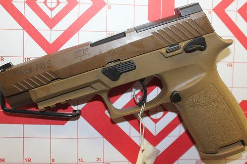 Sig Sauer P320F  M17  9mm